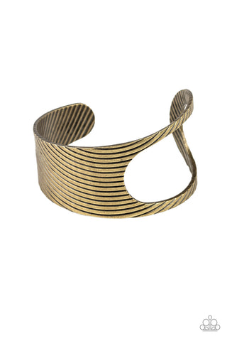 What GLEAMS Are Made Of - Brass Bracelet