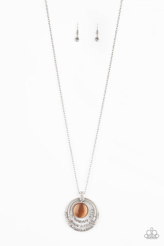 A Diamond A Day Orange Necklace Paparazzi Accessories