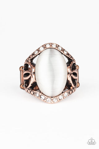 Dew Onto Others Copper Paparazzi Accessories Ring