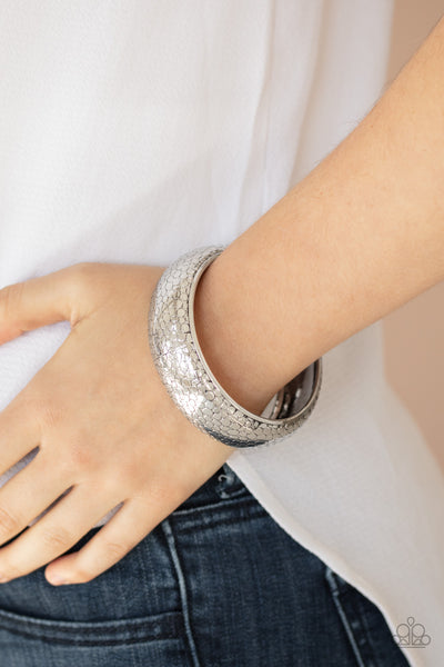 Urban Wildlife Silver Bracelet Paparazzi Accessories