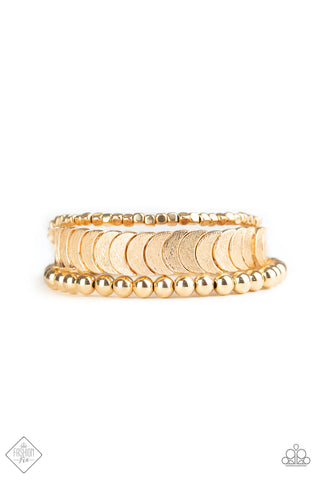 Sunset Sightings LAYER It On Me - Gold Bracelet