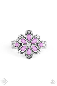 Glimpses of Malibu Fruity Florals - Purple Ring