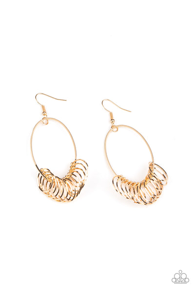 Halo Effect - Gold Earrings