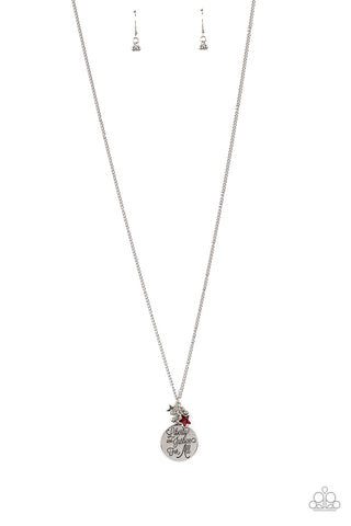 Liberty And Justice For All - Red Necklace