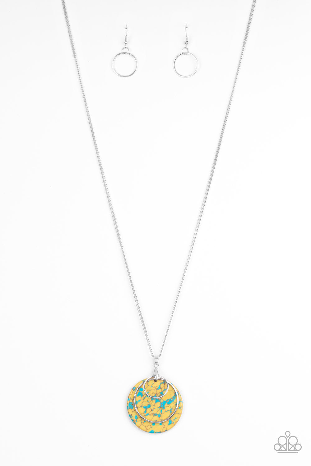 Sahara Equinox - Yellow Necklace