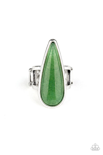 Spiritual Awakening Green Paparazzi Accessories Ring
