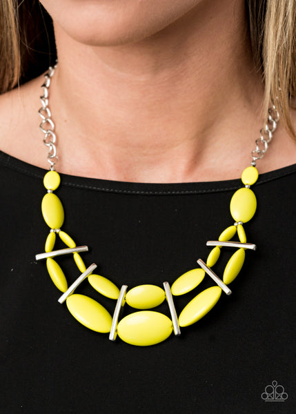 Law of the Jungle - Yellow Necklace