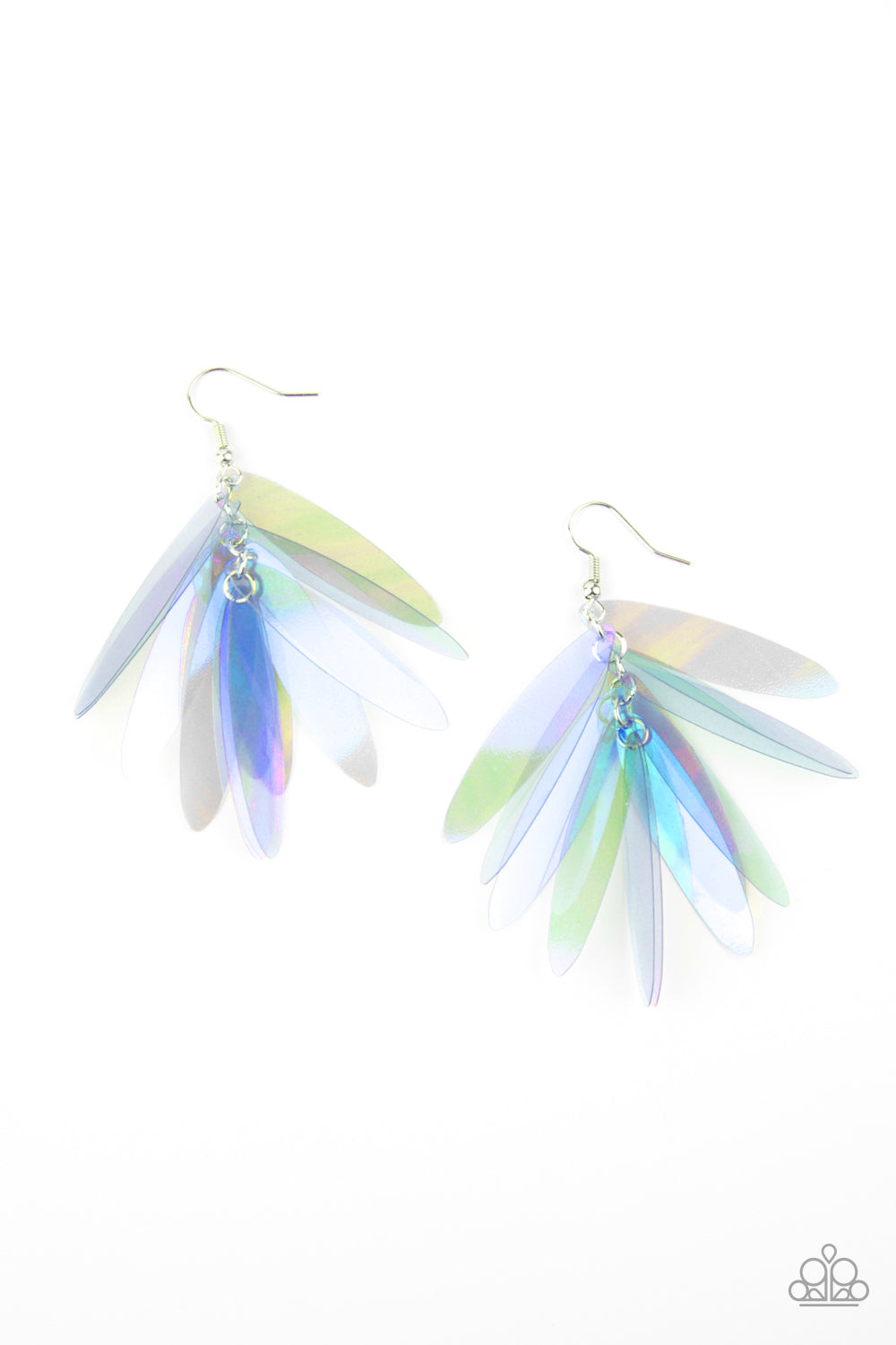 Holographic Glamour - Multi Earrings