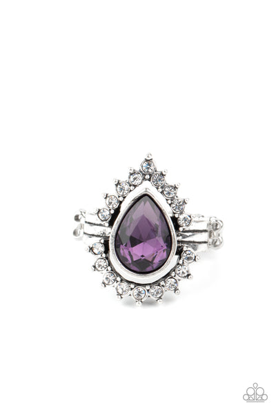 Make Your TRADEMARK - Purple Ring Paparazzi
