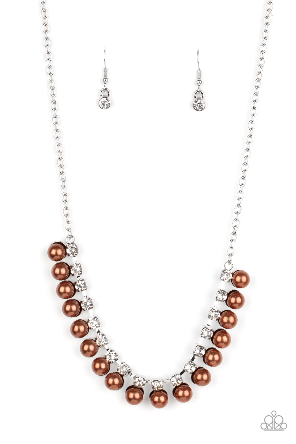 Frozen in TIMELESS - Brown Necklace