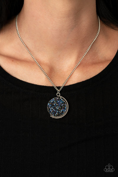 My Moon and Stars - Blue Necklace
