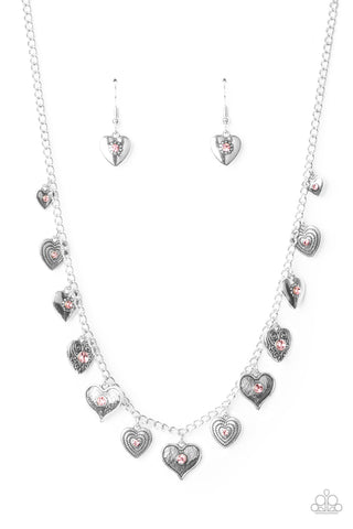 Lovely Lockets - Pink Necklace Paparazzi
