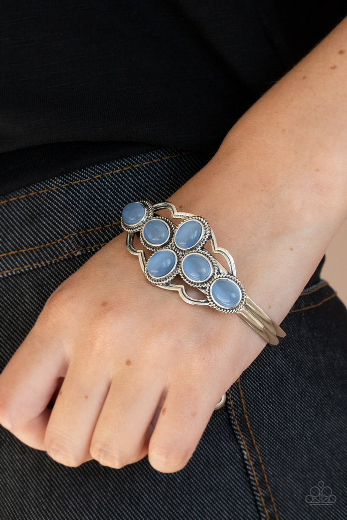 Color Me Celestial - Blue Paparazzi Bracelet