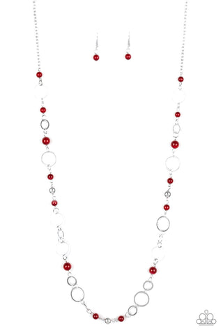 Kid In A Candy Shop - Red Necklace