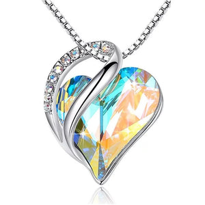 Holographic Heart - Multi Necklace