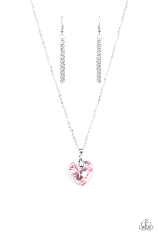 Love Hurts - Pink Necklace