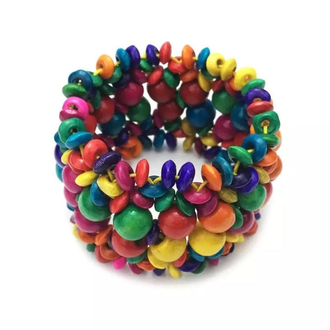 Fun in the Sun - Multi-colored Bracelet