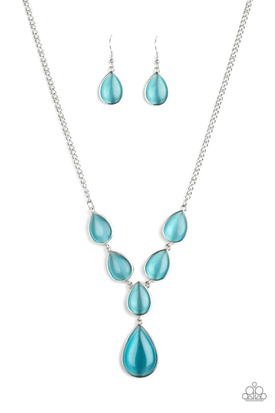 Dewey Decadence - Blue Necklace