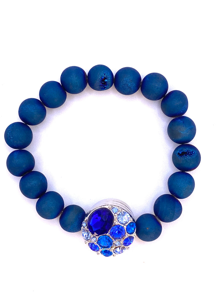 Soothing and Peaceful - Blue Bracelets