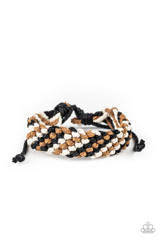 Weave No Trace - Black Urban Bracelet