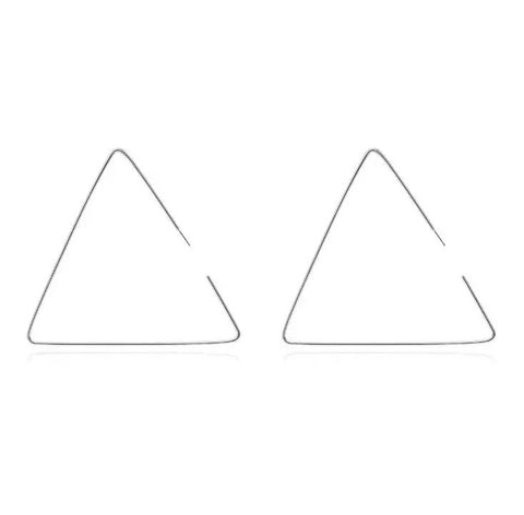 Tri-Angular Earrings