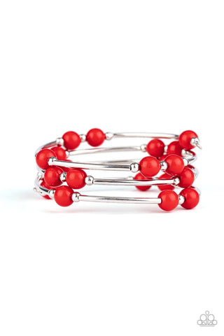 Let Freedom Ring - Red Bracelet