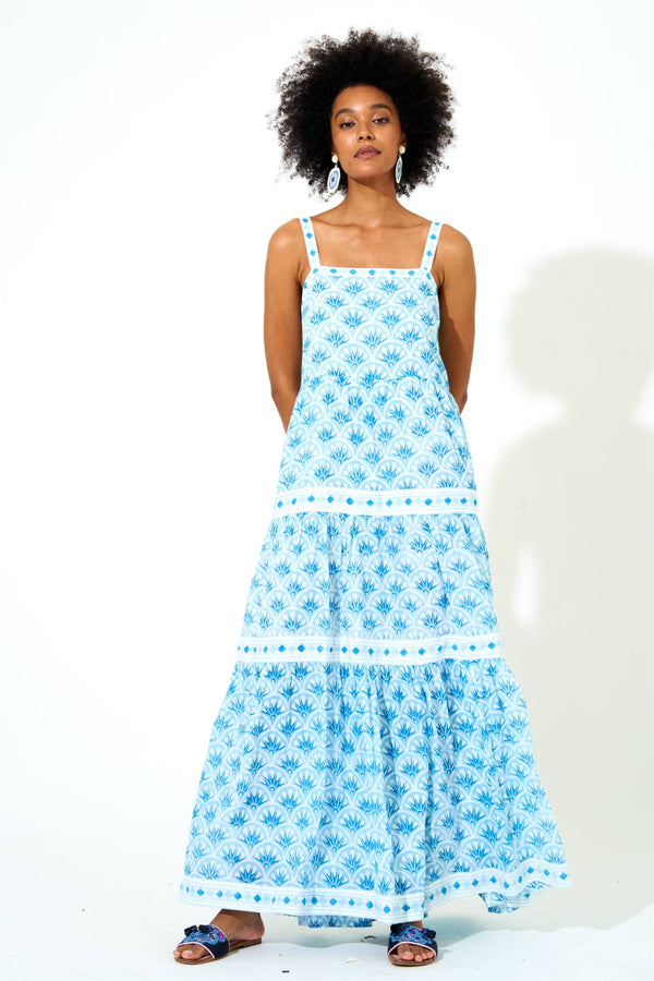 Strappy Maxi- Capella Blue