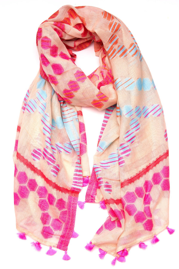 Honeycomb Wrap- Pink
