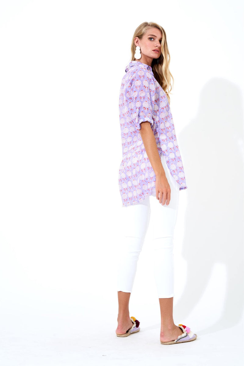 Long Collar- Kerala Lavender