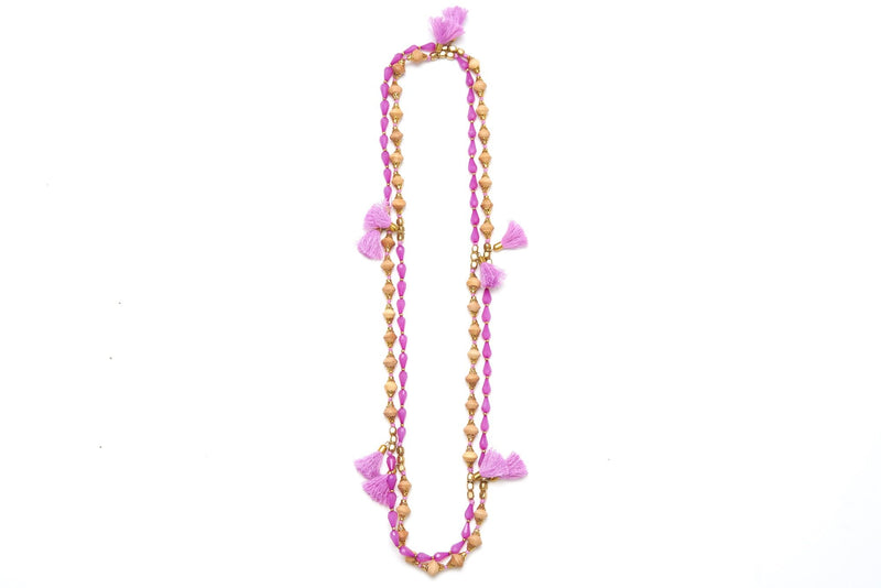 Mumbai Tassel Necklace