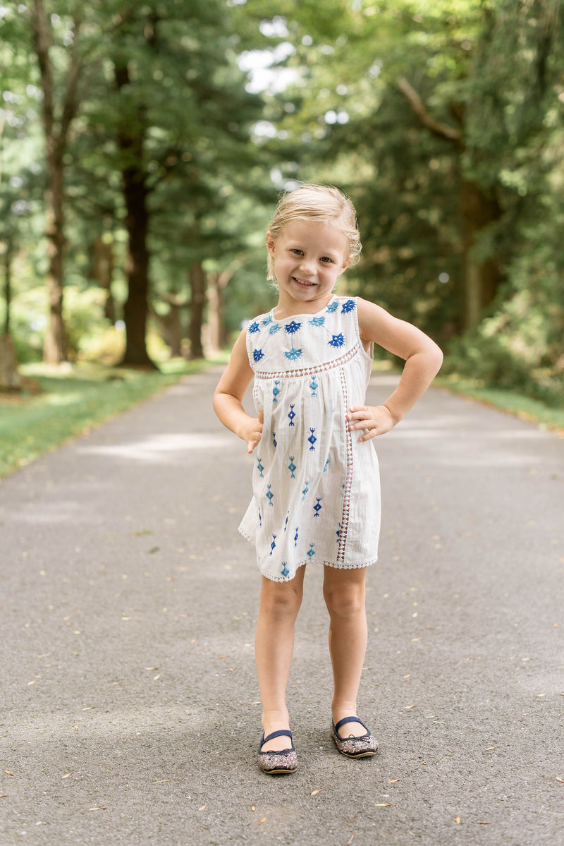 Girl's Shift Dress- Sedona