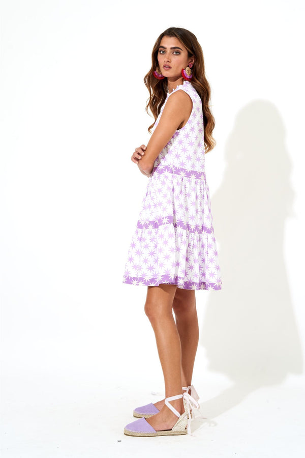 Yoke Dress- Virgo Lilac