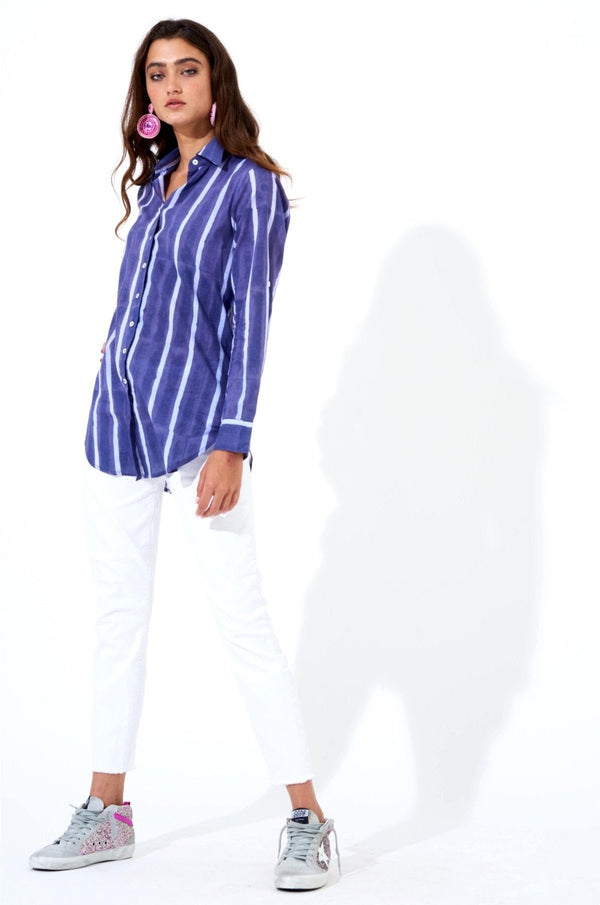 Button Down- Zedi Blue
