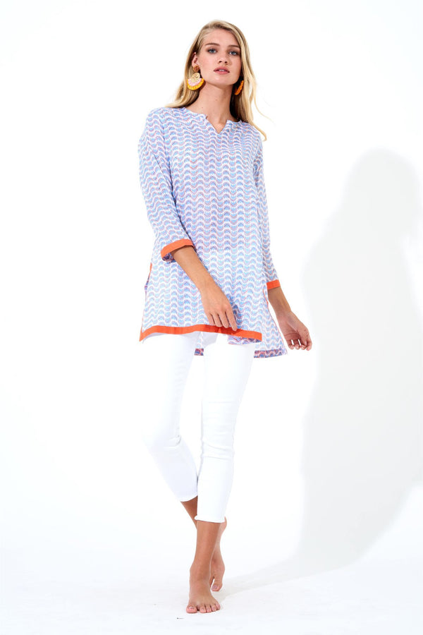 Tunic- Snapdragon Blue