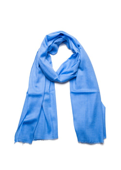 Periwinkle Cashmere Scarf