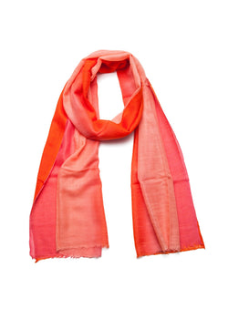 Coral Ombre Scarf