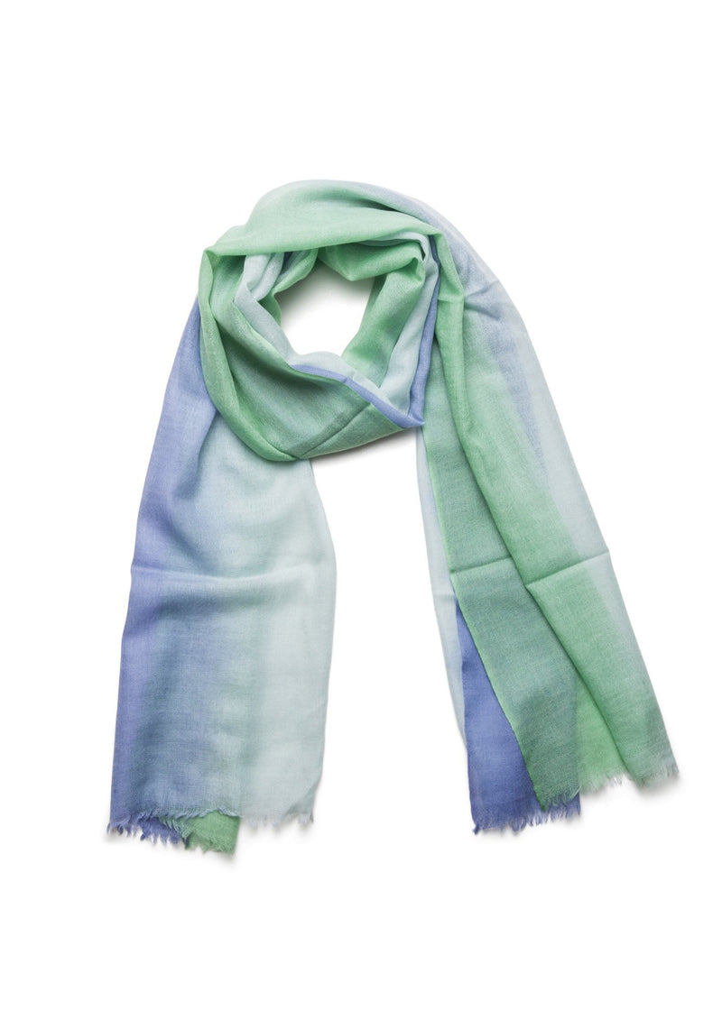 Green Ombre Scarf