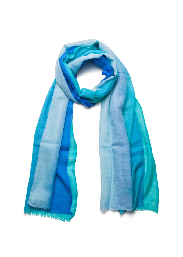 Turquoise Ombre Scarf