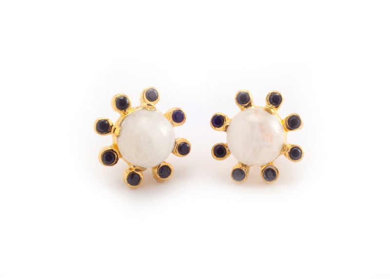 Wheel Stud Earrings
