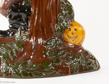 Load image into Gallery viewer, CERAMIC SPOOKY TREE WITH SCARECROW, JACK O'LANTERN PUMPKINS, AND OWL