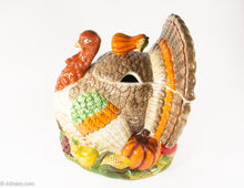 Load image into Gallery viewer, VINTAGE CERAMIC TOM TURKEY SHAPED SOUP TUREEN WITH SQUASH HANDLED LID PERFECT FOR THANKSGIVING