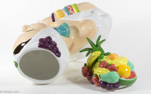 RARE MINT COLLECTIBLE CARMEN MIRANDA COOKIE JAR BY RACHEL ELIZONDO NUMBERED 317 OF 10000 LIMITED EDITION