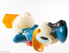 Load image into Gallery viewer, VINTAGE 1970'S WALT DISNEY DONALD DUCK FIGURINE BANK BY ILLCO TOY WITH STOPPER/PLUG