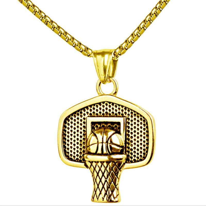 COLLIER BASKETBALL DORÉ