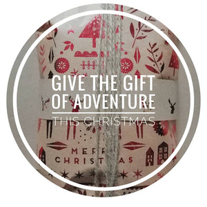Give the gift of adventure this Christmas.