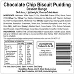 Chocolate Chip Biscuit Pudding
