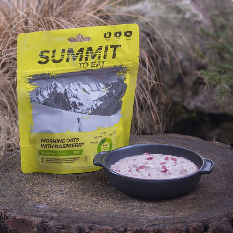 Morning Oats with Raspberry