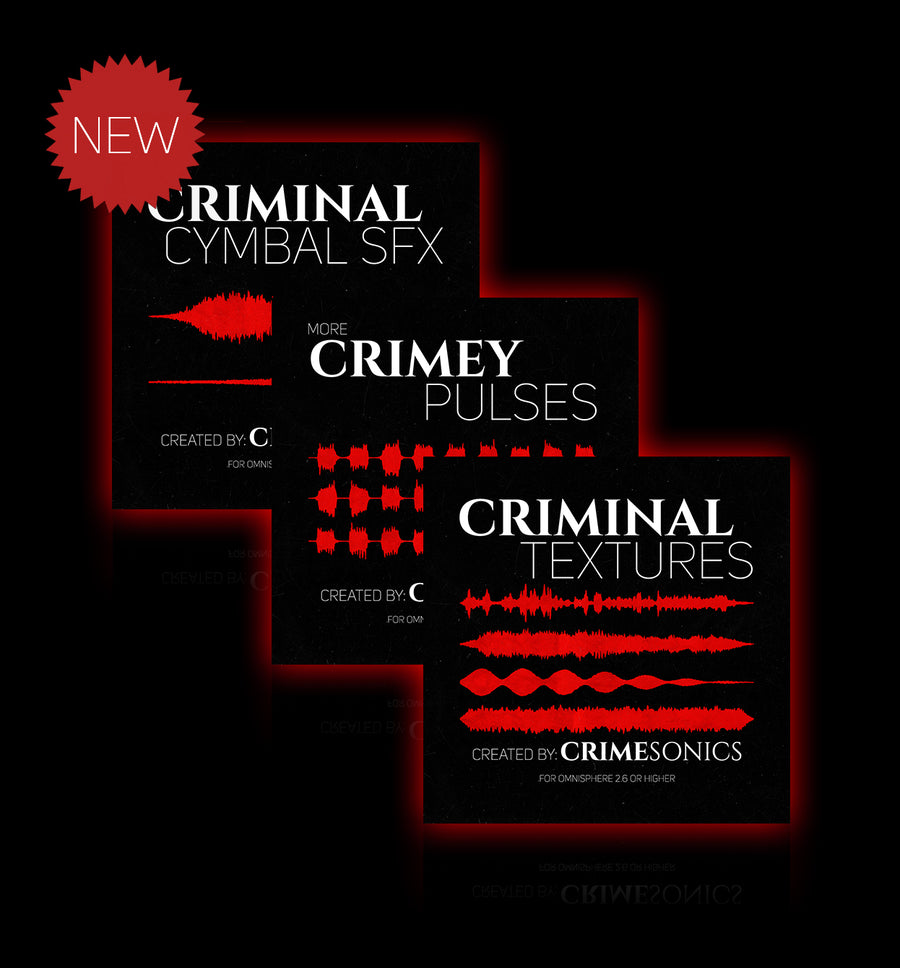 CrimeSonics - Crimey Bundle 3