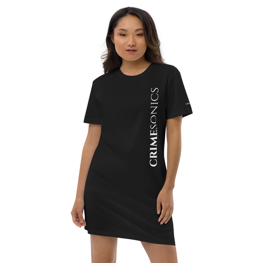 CrimeSonics Organic Cotton T-Shirt Dress [Black]