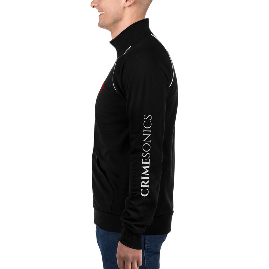 CrimeSonics Premium Piped Fleece Jacket